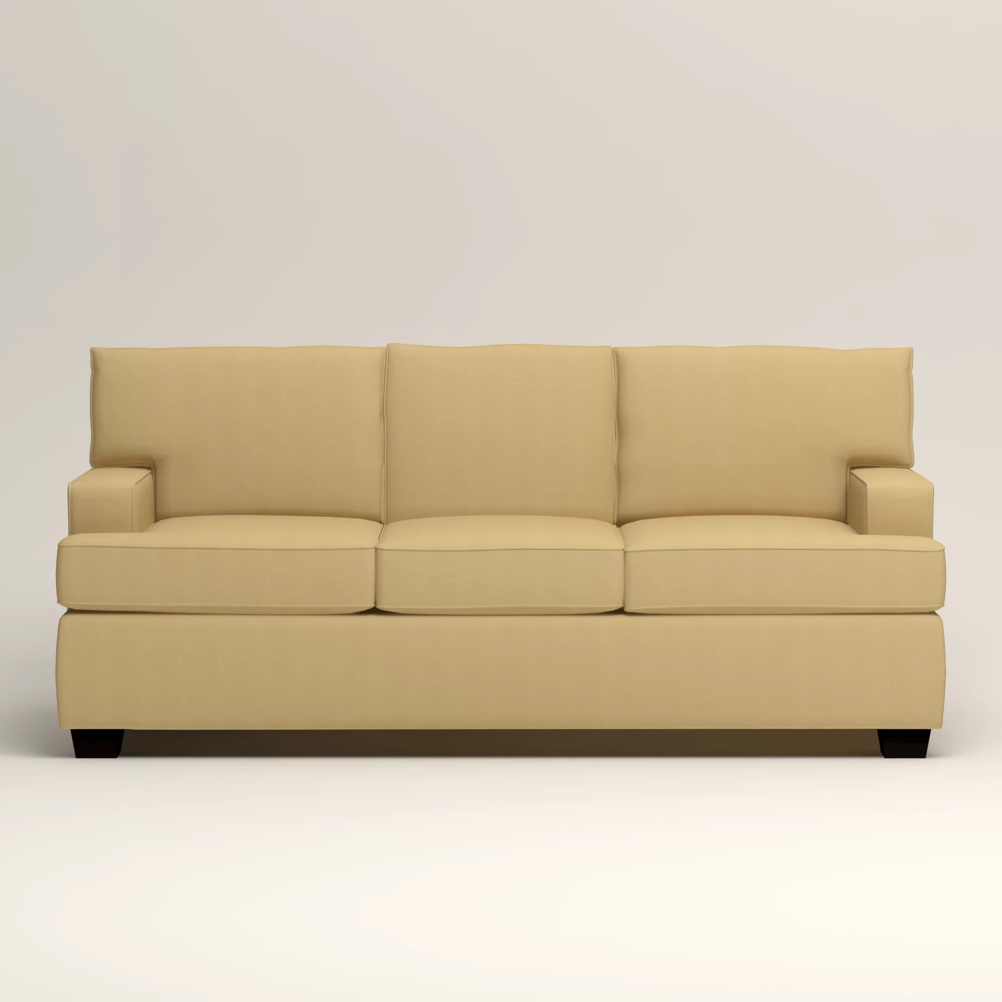 durham sofa by birch lane white sectional leather clarkedale sleeper and reviews wayfair