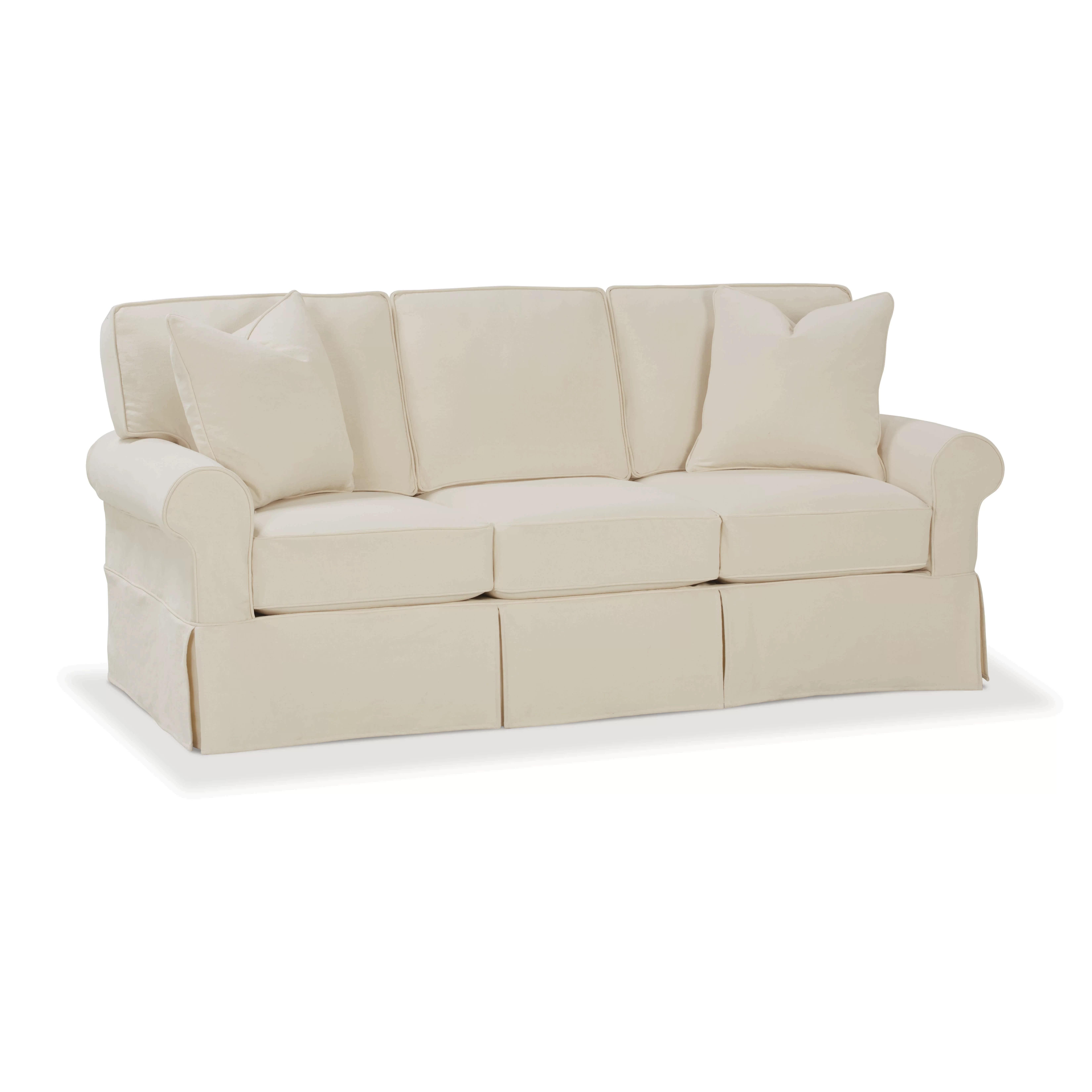 rowe slipcover sofa sofas and loveseats made in usa furniture nantucket slipcovered sleeper