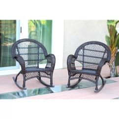 Wicker Rocking Chairs Plastic Stackable Bunnings Jeco Inc Rocker Chair And Reviews Wayfair