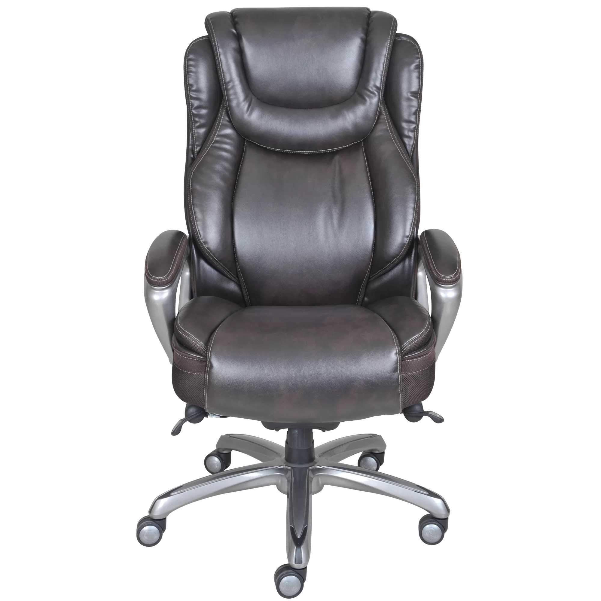 High Back Office Chairs Serta At Home Harmony High Back Executive Chair And Reviews