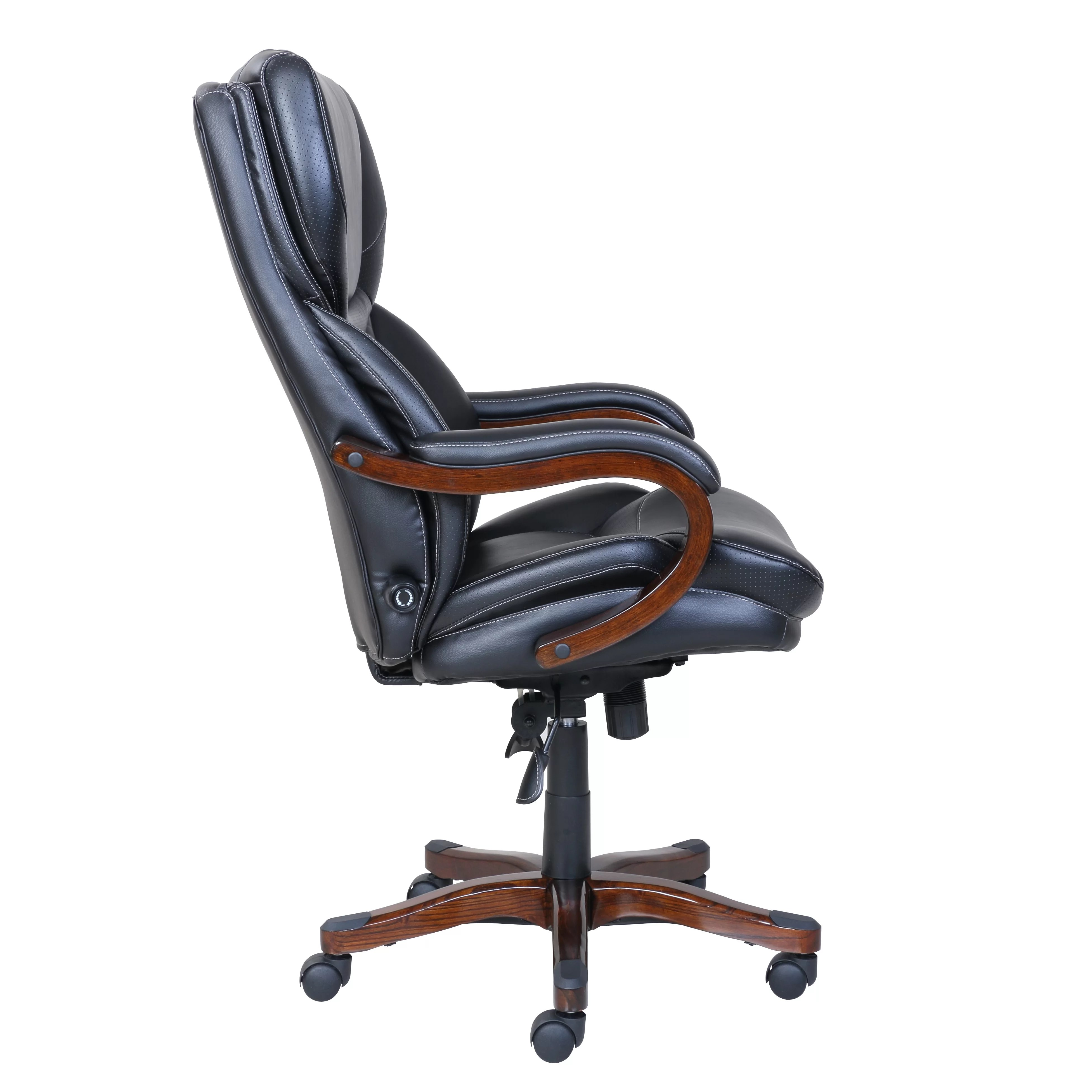 big and tall executive office chairs diffrient world chair serta at home reviews wayfair