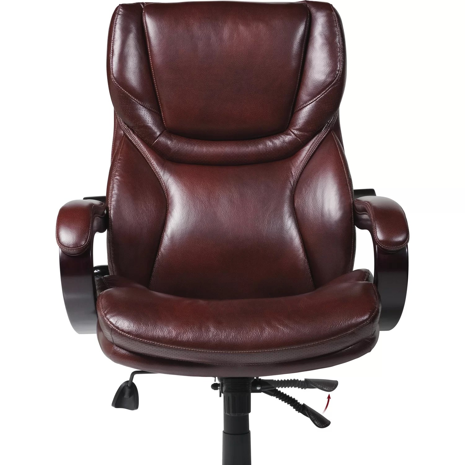 big and tall desk chairs ergonomic chair india online serta at home executive reviews wayfair