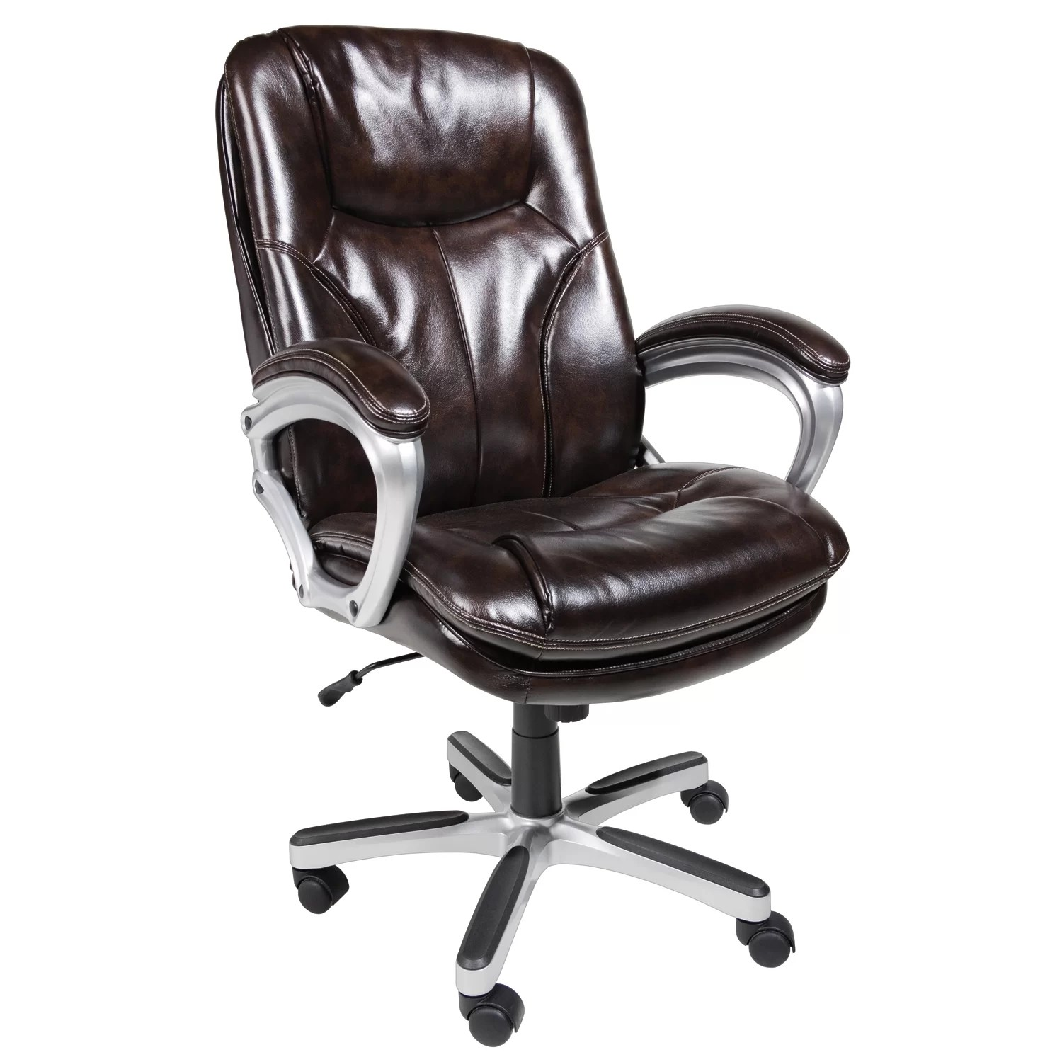 big and tall executive office chairs cushioned chair serta at home reviews