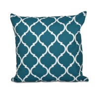 e by design French Quarter Geometric Print Throw Pillow ...