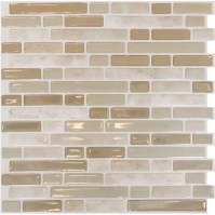 "Smart Tiles Mosaik Bellagio Sabbia 10.06"" x 10"" Peel ..."