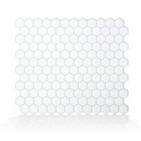 "Smart Tiles Mosaik Hexago 11.27"" x 9.63"" Peel & Stick ..."