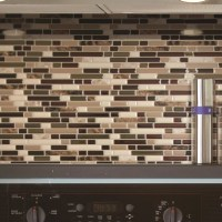"Smart Tiles Mosaik Bellagio Keystone 10.06"" x 10"" Peel ..."