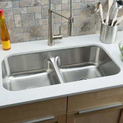 Classic Kitchen Sink Custom Cabinets Hahn Chef 32 5 Quot X 18 13 Wayfair