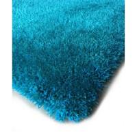 Rug Factory Plus Hand-Tufted Turquoise Area Rug | Wayfair