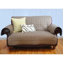 Seat Saver Sofa Reviews Bed Warehouse Birmingham Ez Living Home Circle Water Repellent Quilted Loveseat