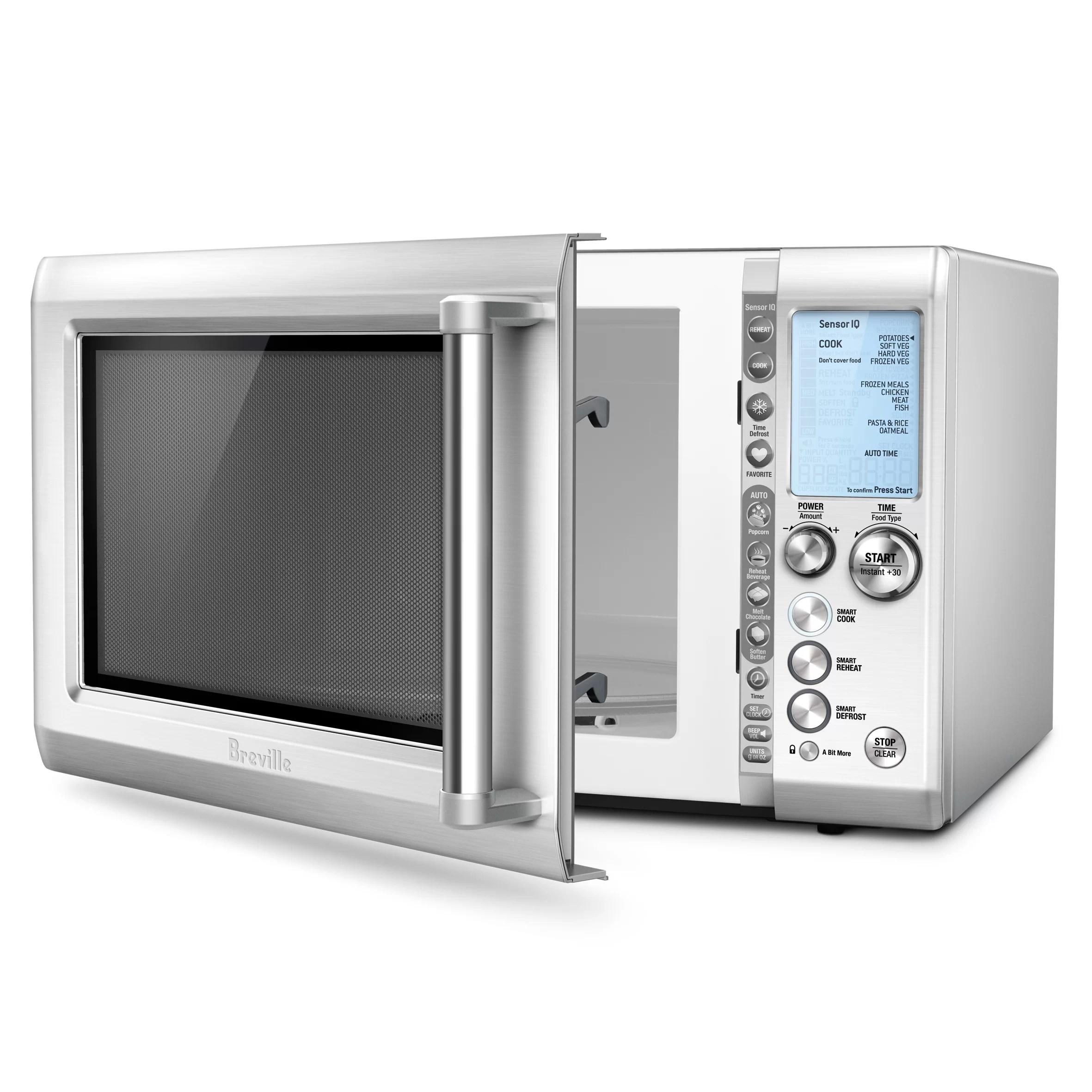 Breville 12 Cu Ft 1100W Microwave Amp Reviews Wayfair