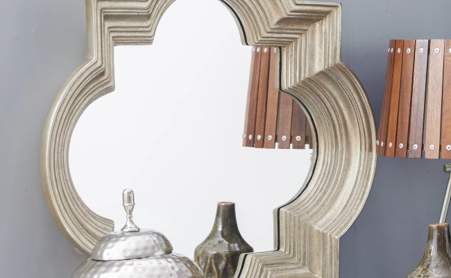 Osp Designs Gatsby Decorative Beveled Wall Mirror