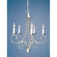 Volume Lighting Rhodes 5 Light Candle Chandelier & Reviews ...