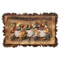 """Charlton Home """"The Last Supper"""" 3-D Plaque Wall Dcor ..."""