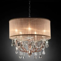 ORE Furniture Rosie Crystal 5 Light Ceiling Lamp & Reviews ...