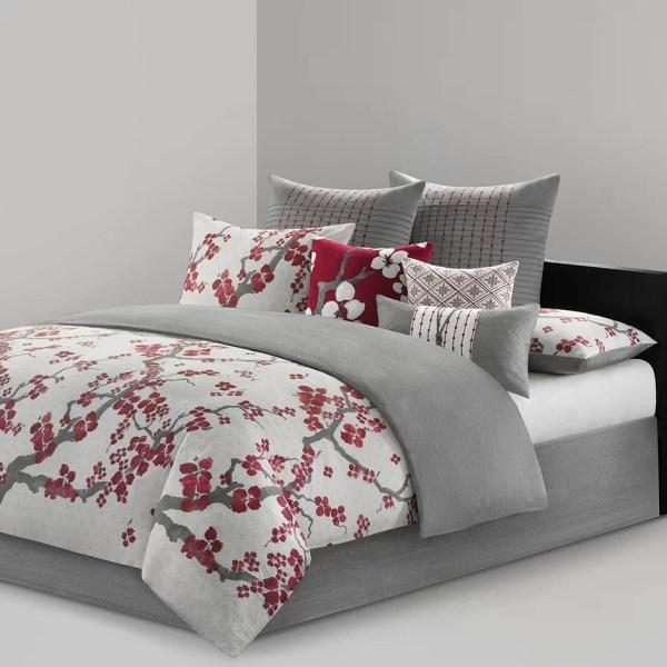 Natori Cherry Blossom Bedding Collection &