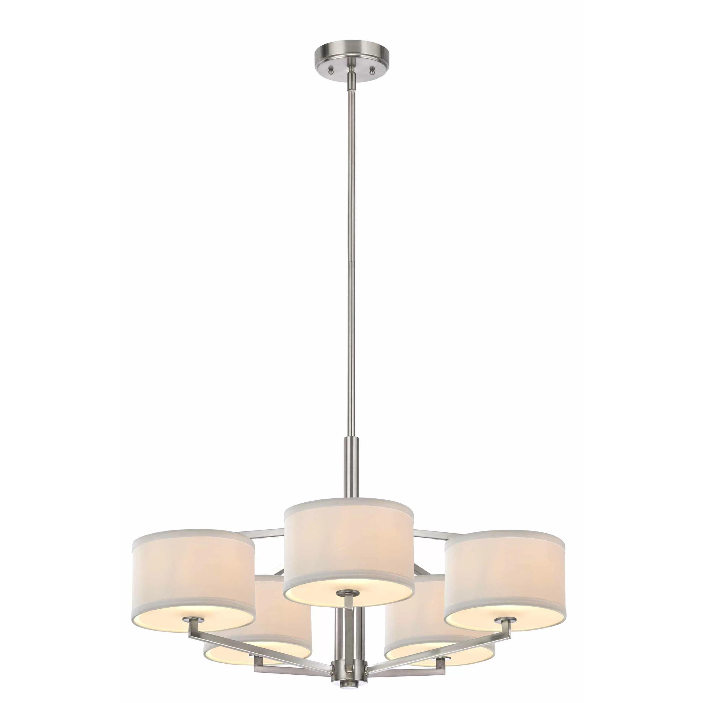 Dolan Designs Monaco 5 Light Chandelier  Reviews  Wayfair