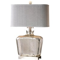 "Uttermost Molinara 28"" H Table Lamp with Rectangular Shade ..."