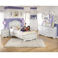 Signature Design by Ashley Zarollina Panel Bed & Reviews ...