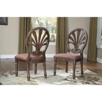 Signature Design by Ashley Ledelle Side Chair & Reviews ...
