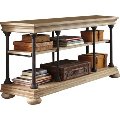 Ashley Sofa Tables To Bunk Bed Convertible Signature Design By Shennifin Console Table