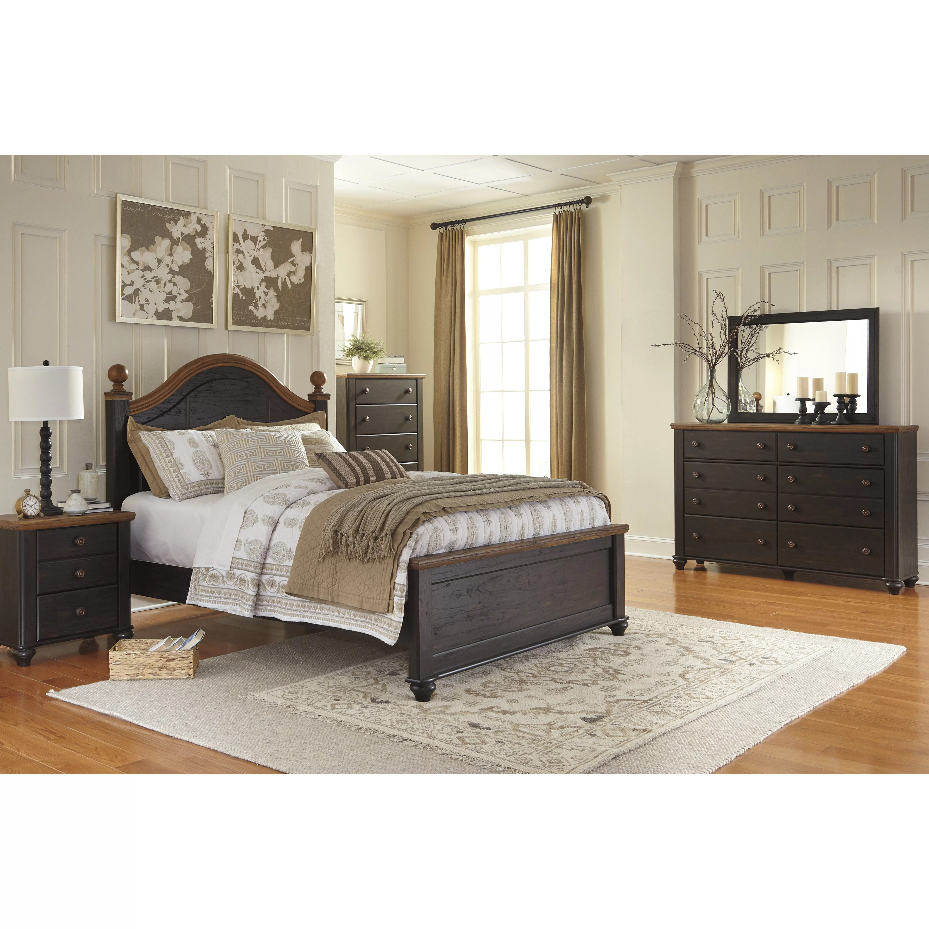 Signature Design by Ashley Panel Customizable Bedroom Set