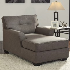 Living Room Chaise Lounge Chair Lawn Chairs Signature Design By Ashley Tibbee And Reviews