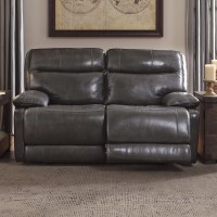 Signature Design by Ashley Leather Reclining Loveseat