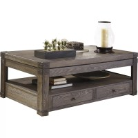 Signature Design by Ashley Burladen Coffee Table with Lift ...