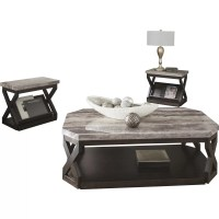 Signature Design by Ashley Radilyn 3 Piece Coffee Table ...