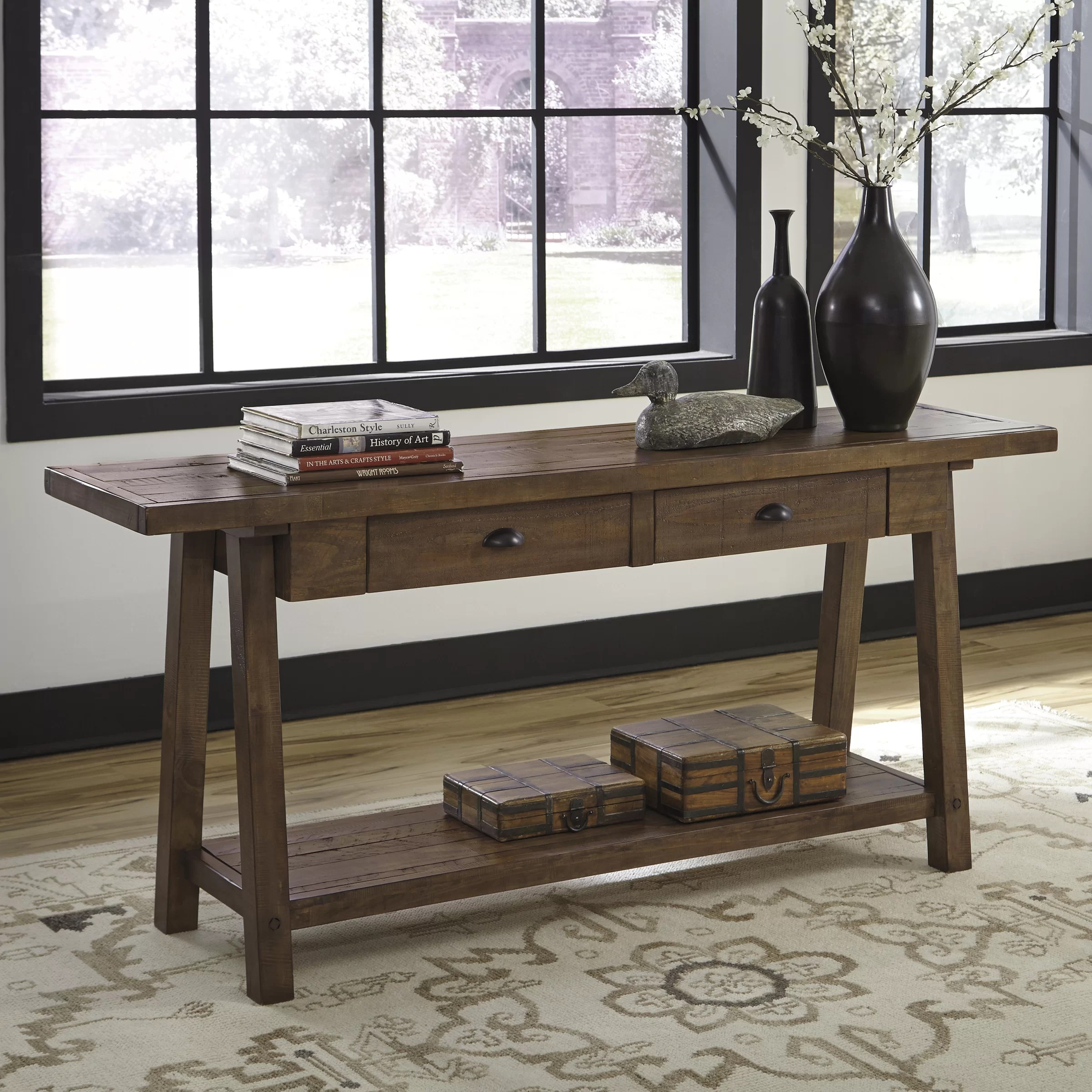 Signature Design by Ashley Dondie Console Table  Reviews  Wayfair
