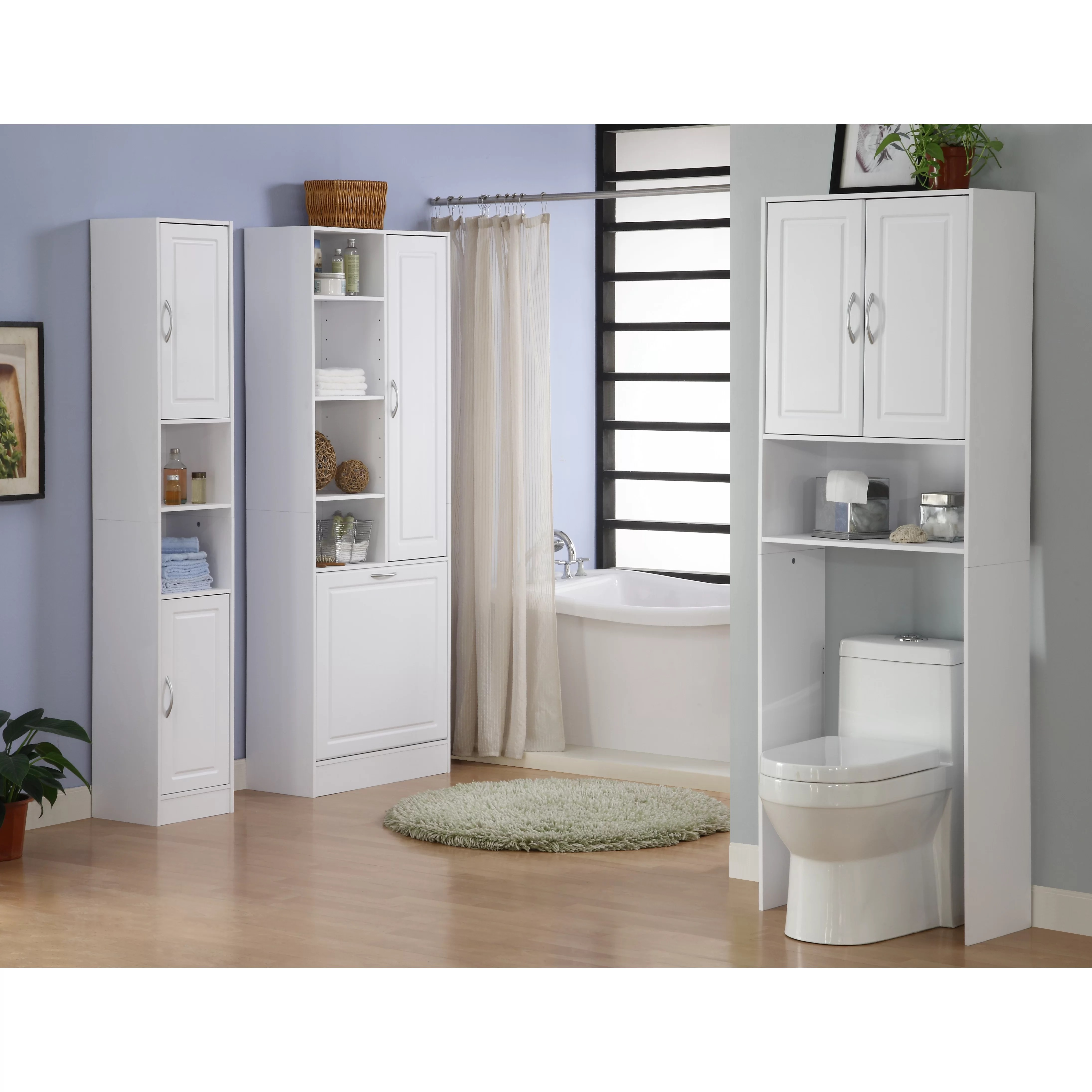 4D Concepts Storage and Organization Over the Toilet
