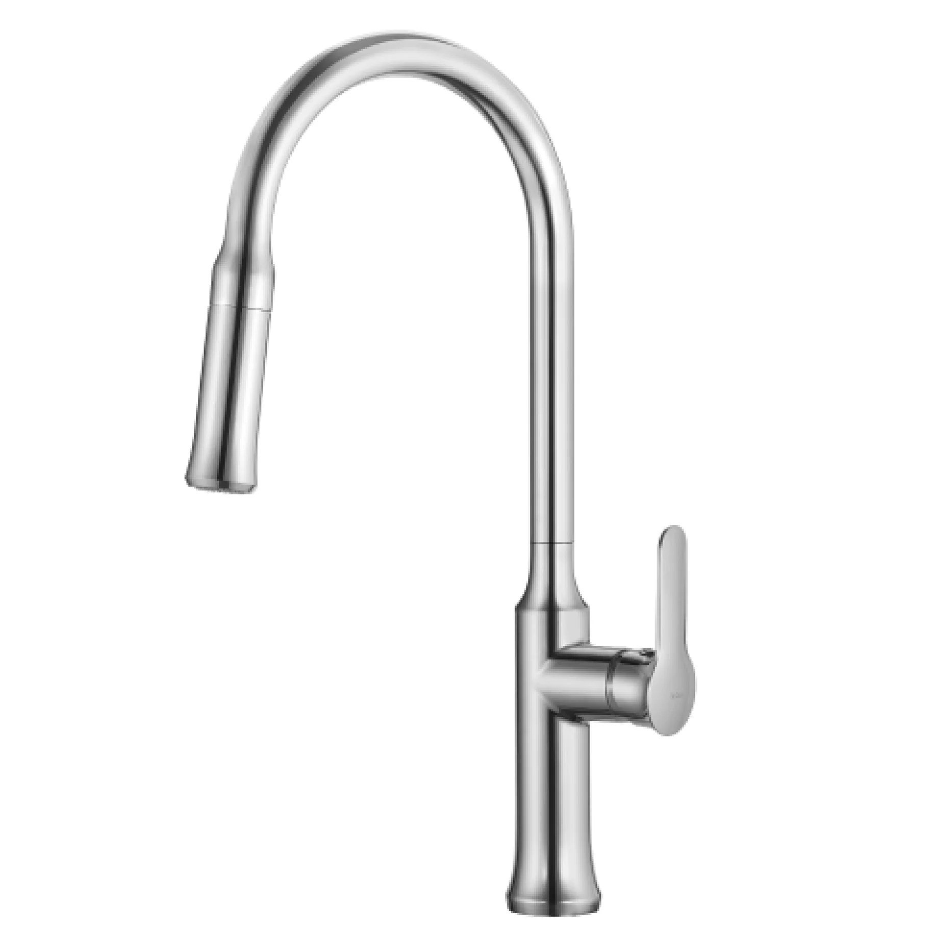 single lever kitchen faucet countertop inserts kraus nola pull down