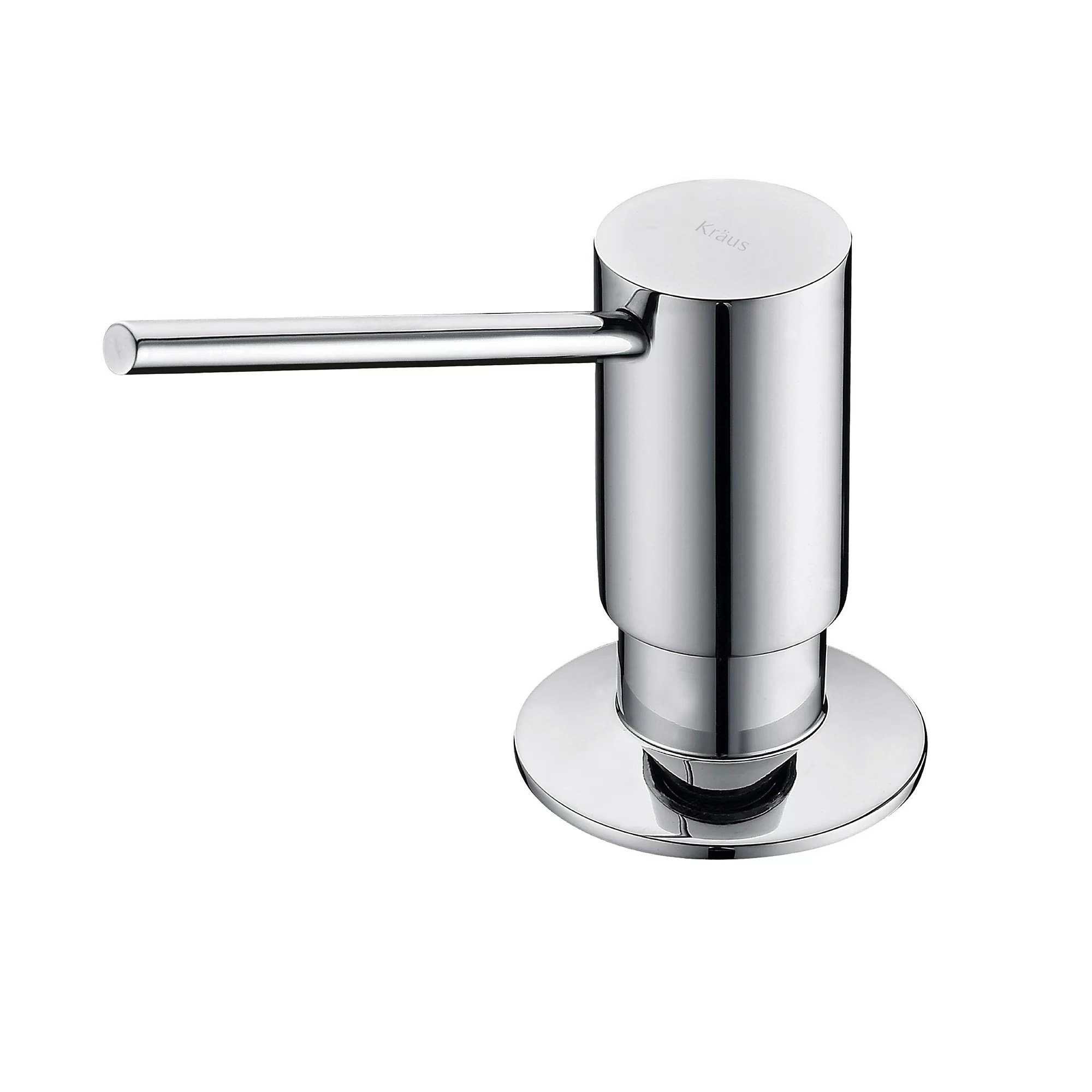 kitchen faucets with soap dispenser cheap cabinet hardware kraus mateo pull down faucet bar prep