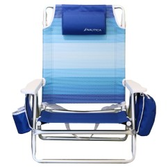 Beach Chairs Sam S Club Extra Large Office Chair Nautica Striped With Cushions And Reviews Wayfair
