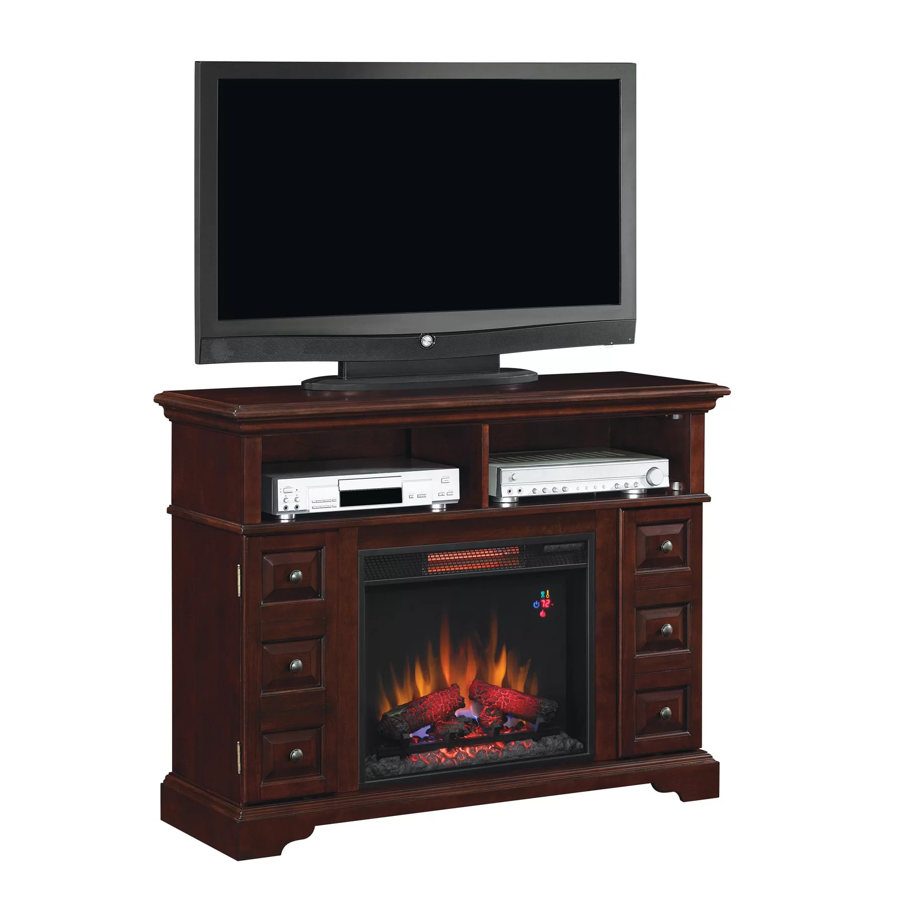 Classic Flame Media Electric Fireplace & Reviews