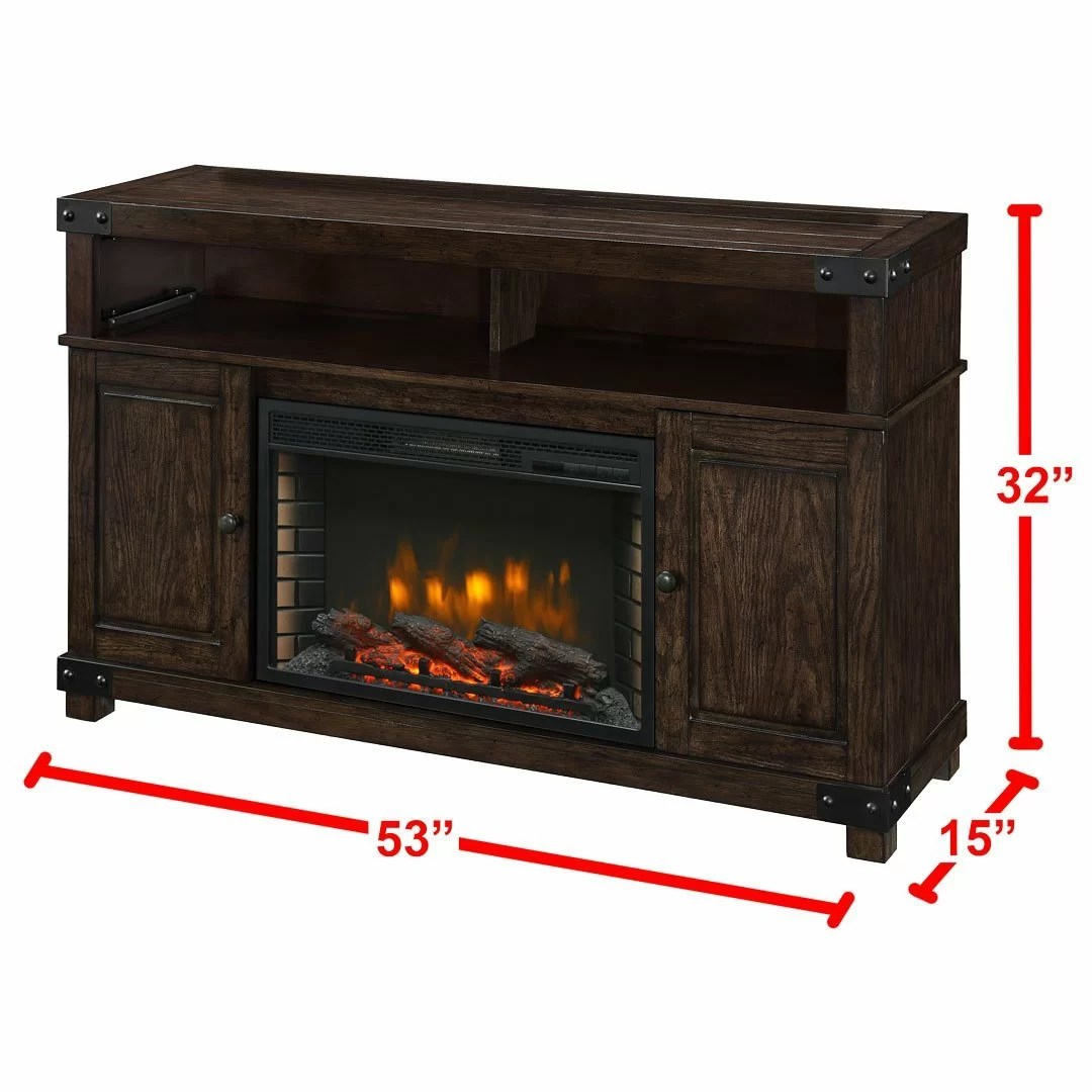 Muskoka Hudson Media Electric Fireplace  Reviews  Wayfair