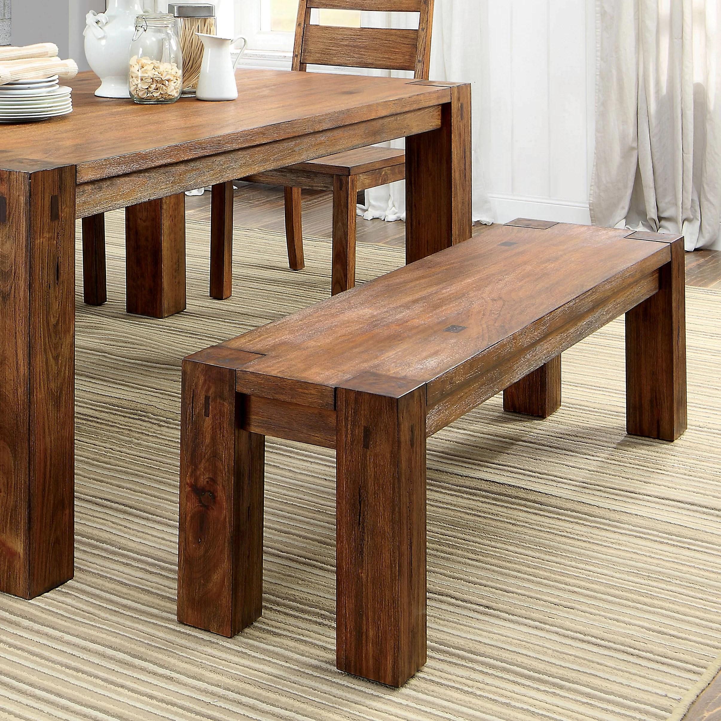 Hokku Designs Bethanne Wood Kitchen Bench  Reviews  Wayfair