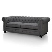"Hokku Designs Cedric 90"" Chesterfield Sofa & Reviews | Wayfair"