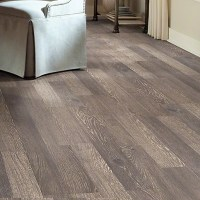 "Shaw Floors Reclaimed 8"" x 48"" x 6mm Laminate in Bistro ..."