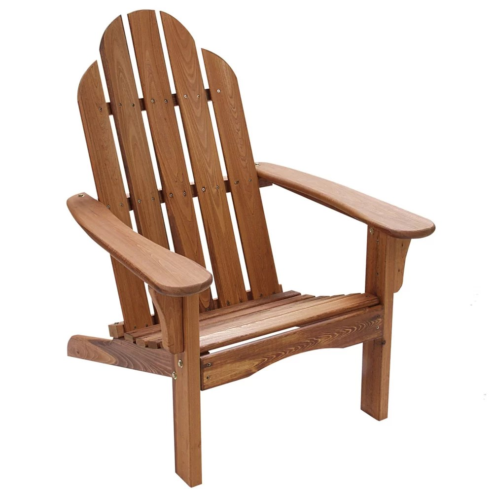String Light Co Wood Adirondack Chair  Reviews  Wayfair