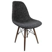 eModern Decor Mid Century Modern Woven Fabric Upholstered ...