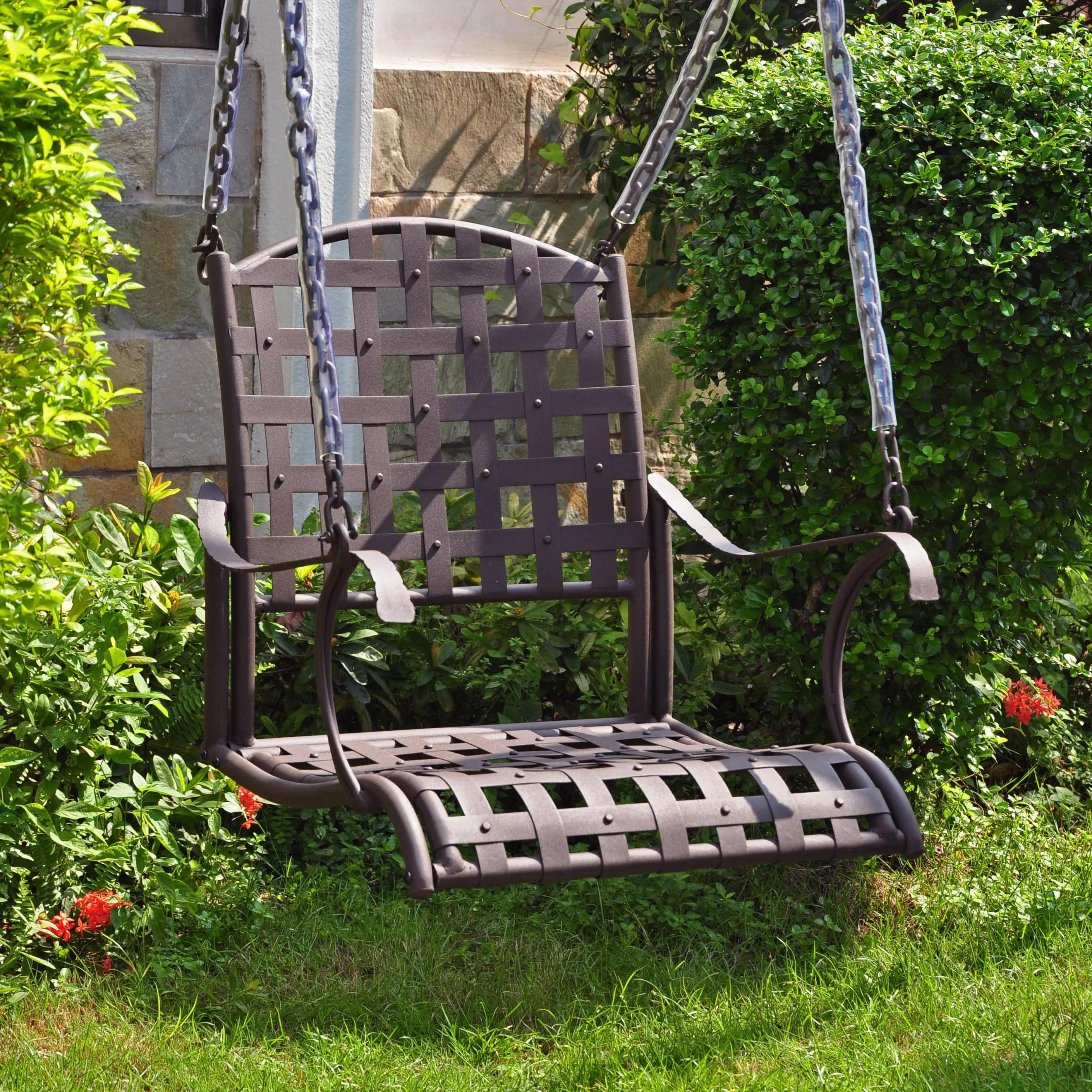 swing chair wayfair target bouncy international caravan santa fe porch and reviews