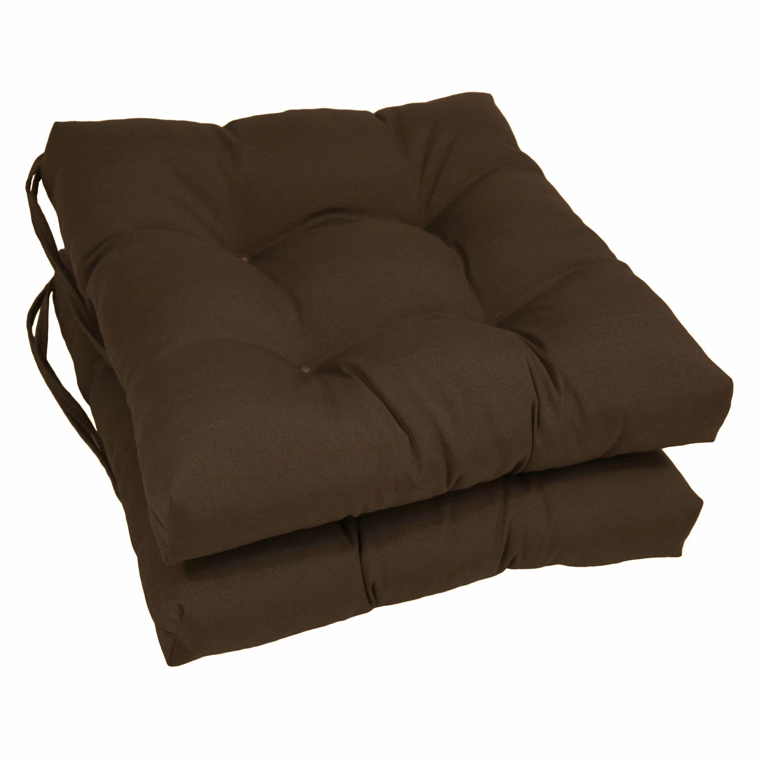 Blazing Needles Dining Chair Cushion  Reviews  Wayfair