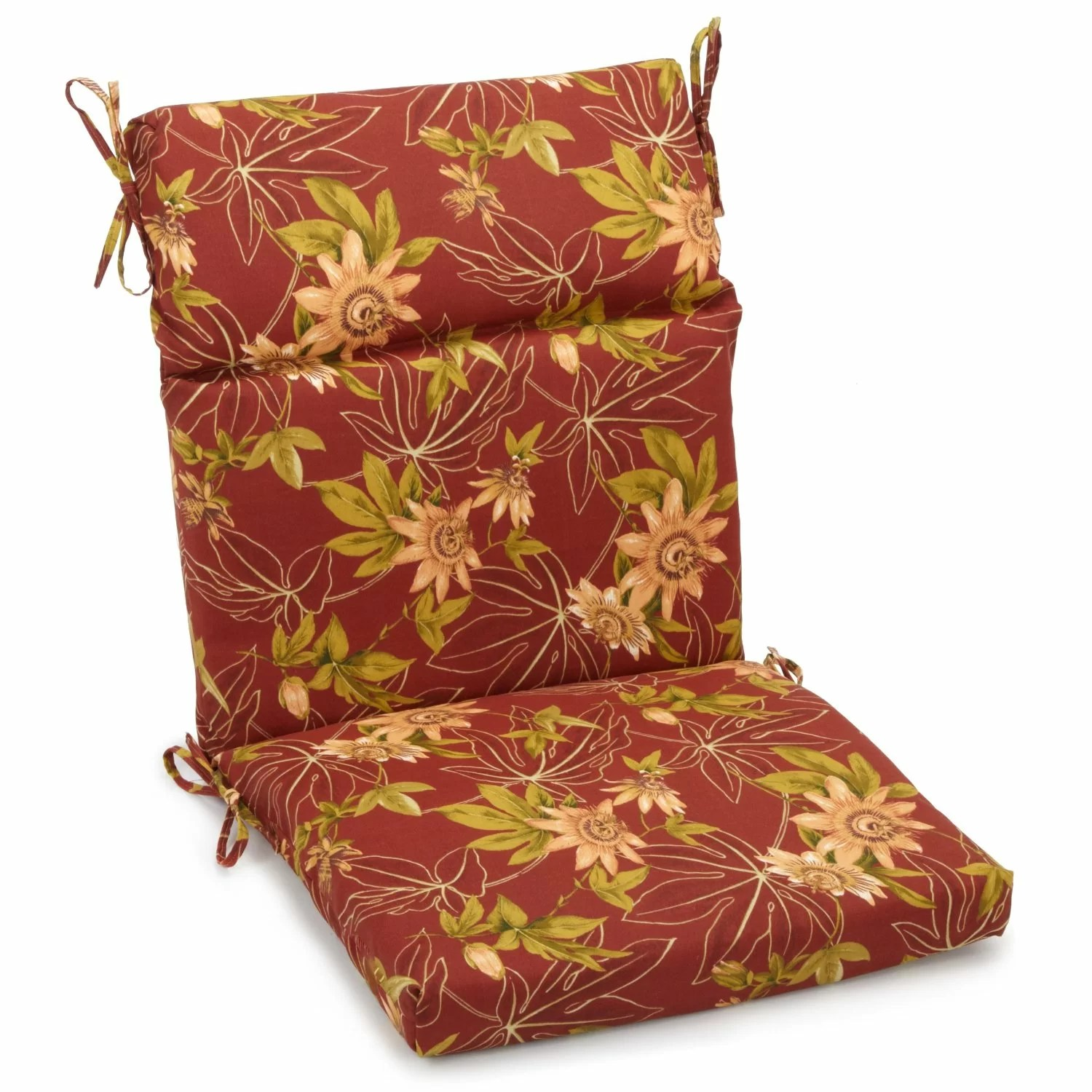 chair pillow walmart massage brands blazing needles outdoor adirondack cushion and reviews