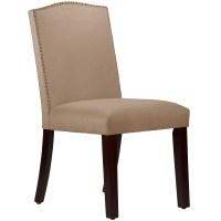 Wayfair Custom Upholstery Nadia Parsons Chair with Nail ...