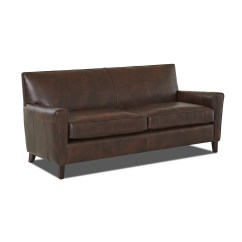 Wayfair Furniture Sofa 2 Seater Cover Black Custom Upholstery Grayson Leather And Reviews