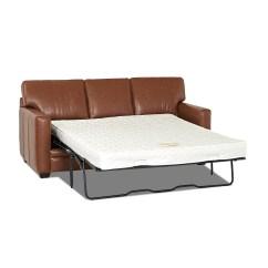 Wayfair Sofa Reviews Ebay Set Uk Custom Upholstery Carleton Leather Sleeper