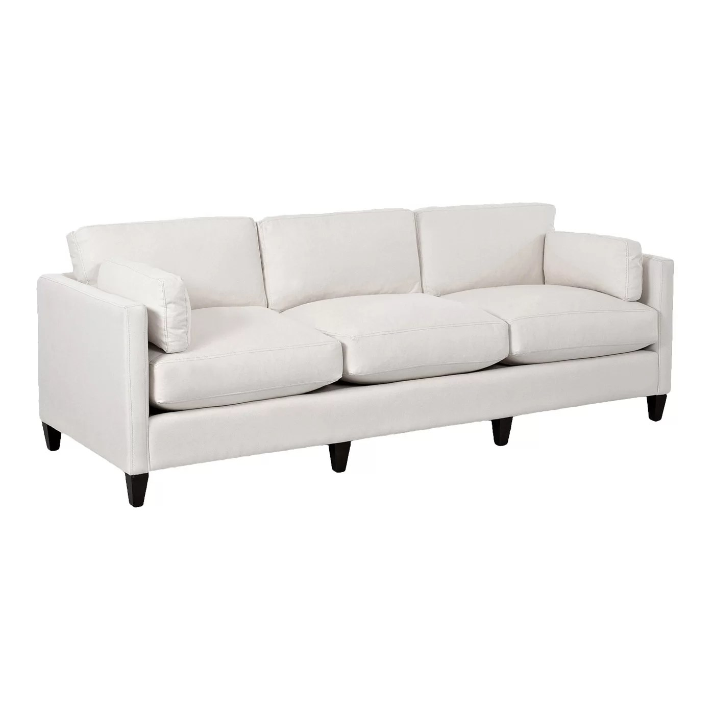 wayfair furniture sofa real leather click clack bed custom upholstery caroline and reviews