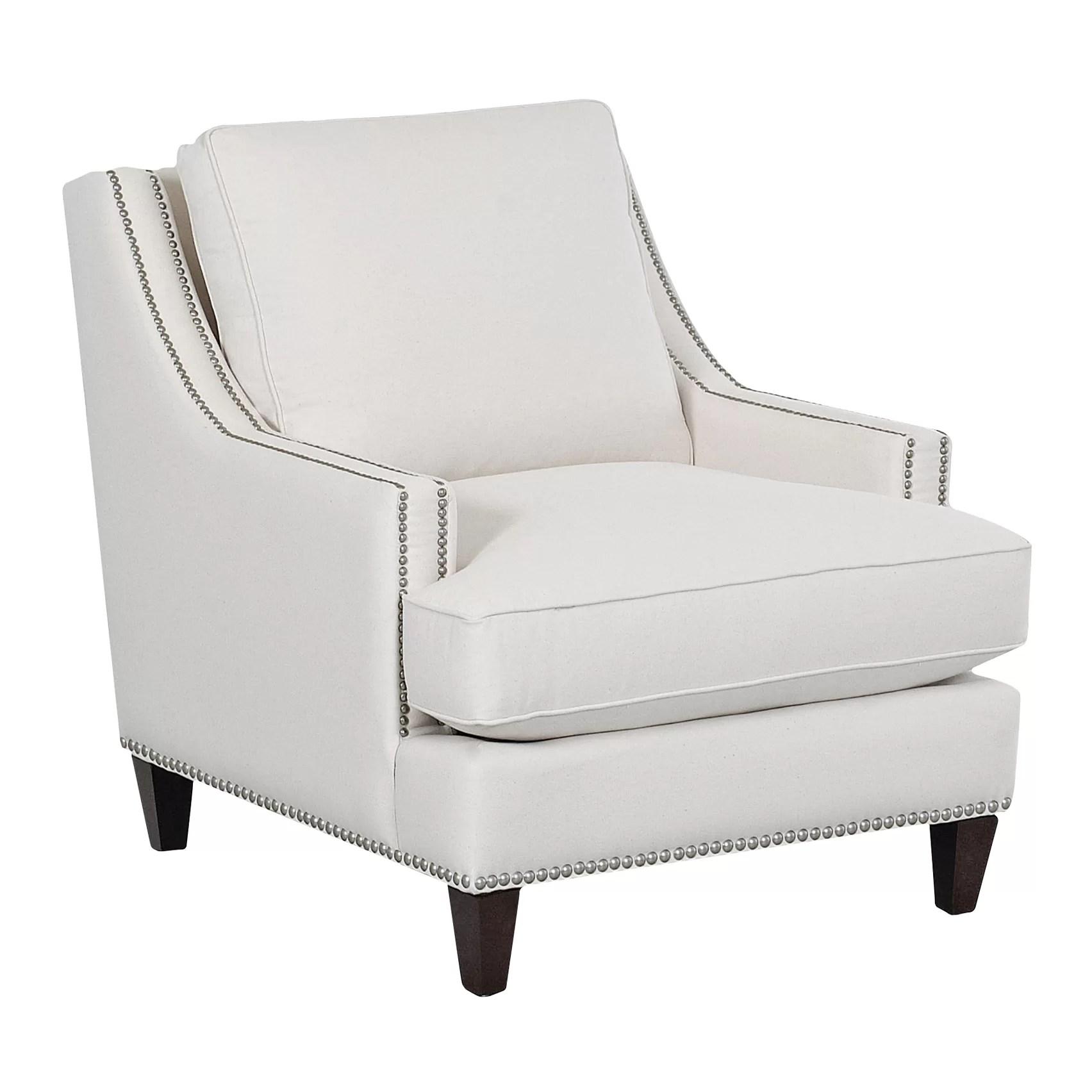 Wayfair Custom Upholstery Paige Arm Chair  Reviews  Wayfair